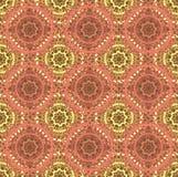Het geometrische naadloze patroon van het oosten Stock Foto