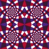 Het geometrische naadloze patroon van Whirly. Royalty-vrije Stock Afbeeldingen