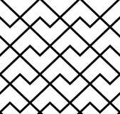 Het geometrische patroon met strepen Naadloze vectorachtergrond Textuur grafisch modern patroon Stock Foto's