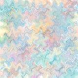 Het geometrische patroon van de pastelkleurkleur stock illustratie