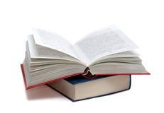 Het geopende boek royalty-vrije stock foto