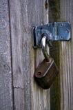 Het geopende hangslot hangen van hinge2 Royalty-vrije Stock Fotografie