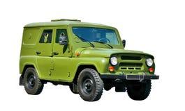 Het gepantserde voertuig van het leger Stock Foto
