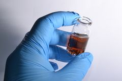 Het gerechtelijke toxicologie Stock Afbeeldingen