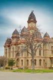 Het Gerechtsgebouw van de Caldwellprovincie in Lockhart Texas Stock Foto's
