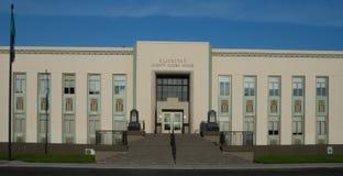 Het Gerechtsgebouw van de Klickitatprovincie in Goldendale Washington Stock Foto's