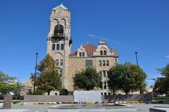 Het Gerechtsgebouw van de Lackawannaprovincie in Scranton, Pennsylvania Stock Foto's