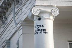 Het Gerechtsgebouw van de Provincie van Lafayette royalty-vrije stock afbeelding