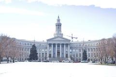 Het gerechtsgebouw van de stad en van de provincie Royalty-vrije Stock Fotografie
