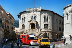 Het Gerechtsgebouw van Monaco Stock Foto's