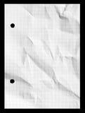 Het geregelde document van het grafieknet notitieboekje met exemplaarruimte Royalty-vrije Stock Fotografie