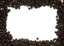 Het geroosterde kader van koffiebonen stock foto