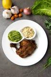 Het geroosterde lapje vlees van de kippentrommelstok royalty-vrije stock afbeeldingen