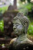 Het geruïneerde Standbeeld van Boedha Stock Afbeeldingen