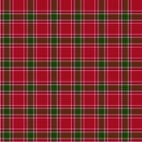 Het geruite Schotse wollen stof achttiende van Gordon Royalty-vrije Stock Foto's