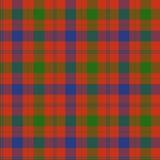 Het geruite Schotse wollen stof van Fraser Royalty-vrije Stock Foto