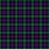 Het geruite Schotse wollen stof van Gordon Stock Afbeelding