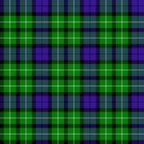 Het geruite Schotse wollen stof van Graham Stock Afbeelding