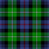 Het Geruite Schotse wollen stof van McKenzie Royalty-vrije Stock Foto