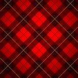 Het geruite Schotse wollen stof van Wallace Royalty-vrije Stock Foto