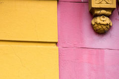 Het geschilderde huis van La boca in Buenos aires stock afbeeldingen