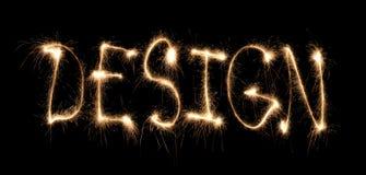 Het geschreven sterretje van Word ontwerp Stock Afbeeldingen