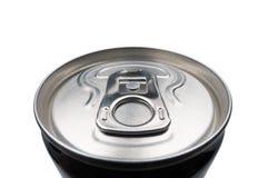 Het gesloten aluminium kan voor frisdranken Stock Afbeeldingen