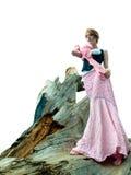 Het gespannen mannequin stellen Royalty-vrije Stock Afbeelding