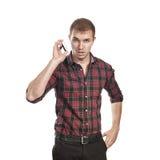 Het gesprek van de telefoon Royalty-vrije Stock Foto