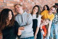 Het gespreks van de Bedrijfs millennialsbaan benoeming stock foto