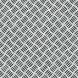 Het Gestoten Metaal van de diamant Plaat Stock Foto's