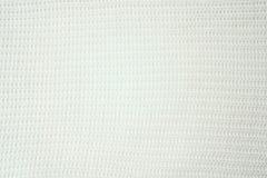 Het gestreepte roze breit stoffentextuur, gebreide patroonachtergrond stock foto's