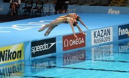 Het gesynchroniseerde Zwemmen Royalty-vrije Stock Foto's