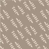 Het getrokken patroon van de pastelkleurbrunch hand Stock Foto's