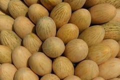 Het geurige snoepje van meloenen stock afbeeldingen