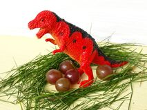Het gevaars roofdiertyrannosaurus van de dinosaurus wilde aard rex royalty-vrije stock foto's
