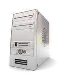 Het geval van de computer Stock Afbeelding
