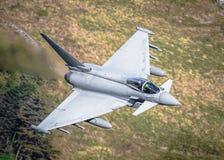 Het gevechtsvliegtuigen van tyfooneurofighter Stock Fotografie