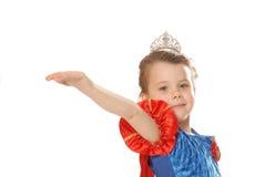 Het geven van de prinses royalty-vrije stock afbeelding