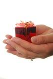 Het geven van gift Stock Foto