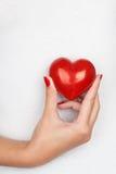 Het geven van liefdeconcept Stock Foto's