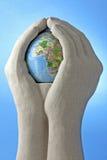 Het geven Wereld Stock Fotografie