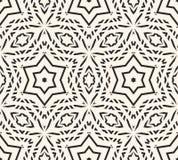 Het gevoelige vector naadloze patroon, siert geometrische textuur Royalty-vrije Stock Afbeelding