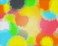 Het gevormde glas van de kleur textuur Stock Foto's