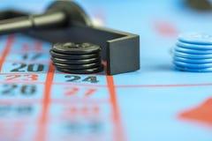 Het gewaagde gokken Stock Foto's