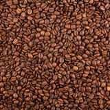 Het gewassentextuur van de koffie Stock Foto's