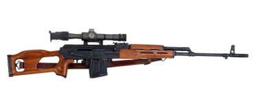 Het geweer van de sluipschutter Stock Afbeeldingen