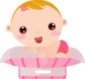 Het gewicht van de baby Stock Afbeeldingen