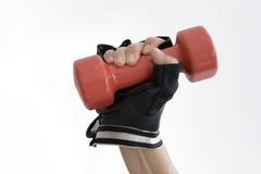 Het gewicht van de hand Stock Afbeelding
