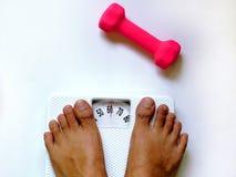 Het gewicht van het verlies Stock Fotografie